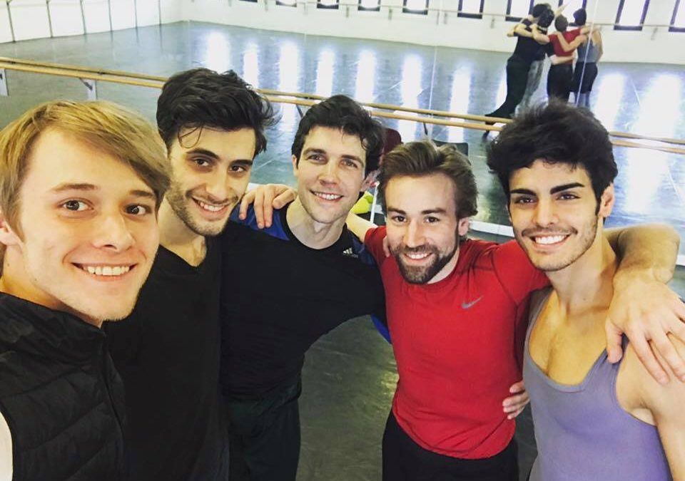"Gioacchino Starace nel cast del ""Roberto Bolle and Friends"""
