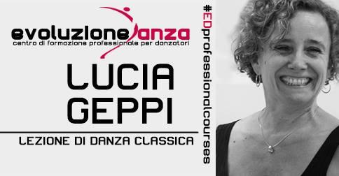 Lezione di Danza Classica con Lucia Geppi – 27 Ottobre