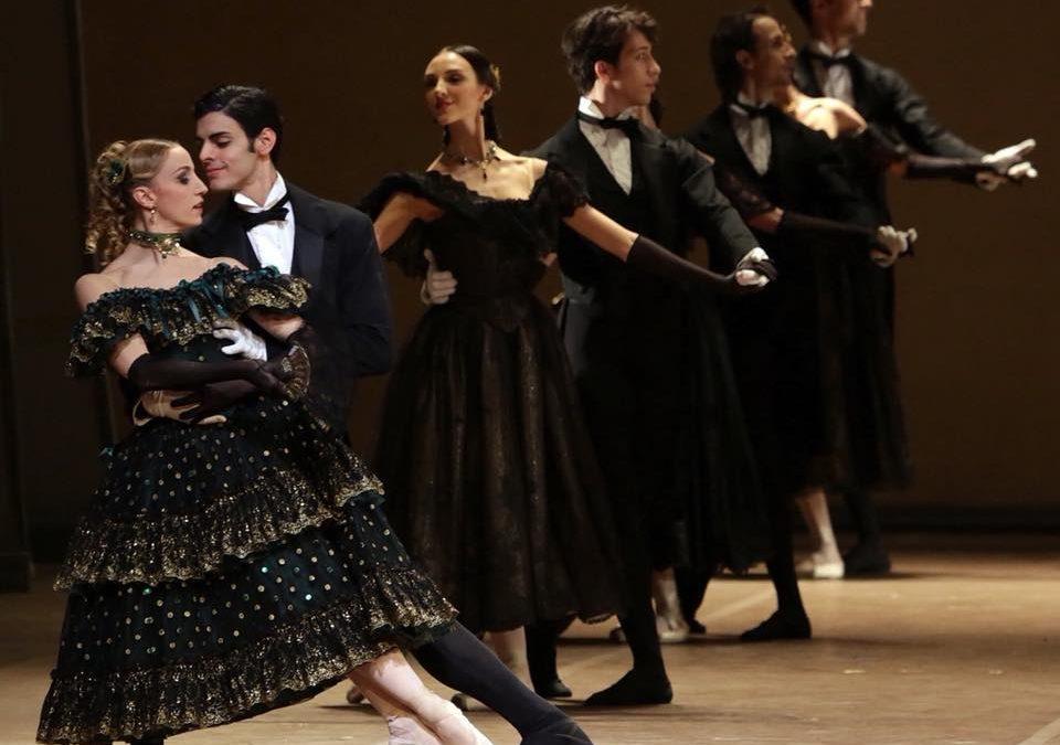 """Gioacchino Starace insieme a Roberto Bolle nella """"Dame aux Camélias"""" al Teatro alla Scala di Milano"""