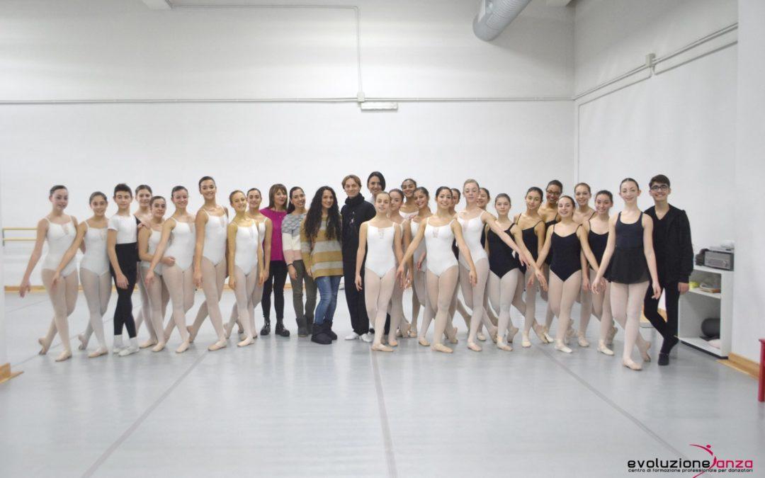 Lezione di Danza Classica con Gerardo Porcelluzzi – 11 Febbraio
