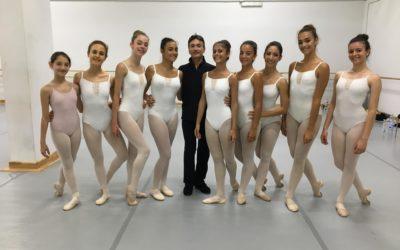 Lezione di Danza Classica con Ugo Ranieri