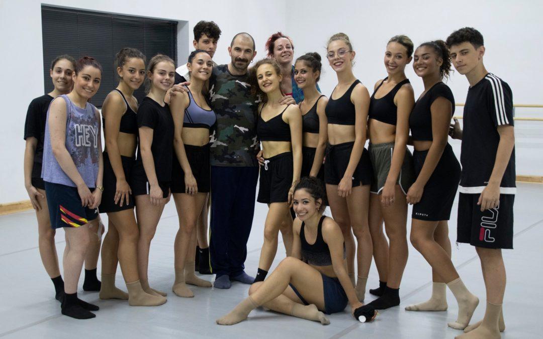 Laboratorio coreografico di danza contemporanea con Francesco Nappa